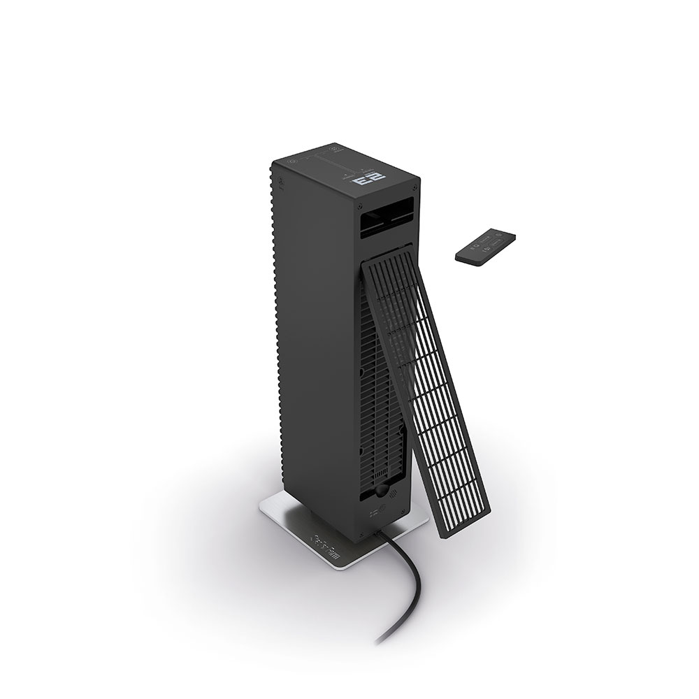 stadler form Paul heater kachels black celsius filter