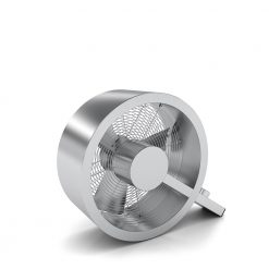 Stadler form Q fan brushed metal Ventilatoren