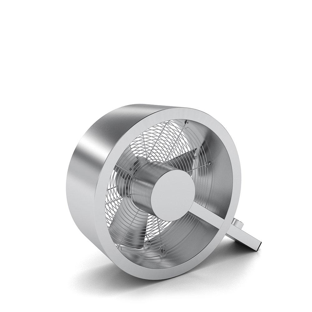 Stadler form Q fan brushed metal Ventilatoren